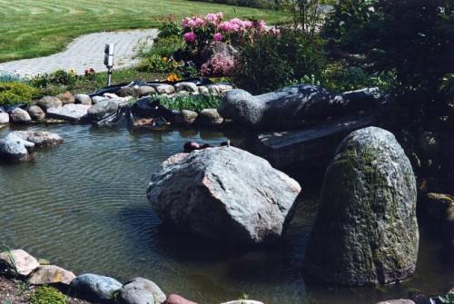 Fotograf: Eget fotoVærk  titel: Sæler Værk  type: Vandkunst Materiale: Granit Færdiggjort: 1991 Placering: Fjordglimt, Sennels