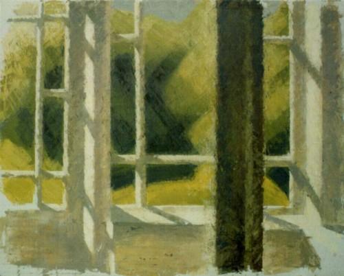 Fotograf: Eget fotoVærk  titel: Junisol Værk  type: Maleri Materiale: Olie på lærred Størrelse: 100x120 cm Færdiggjort: 1990 Placering: Privateje