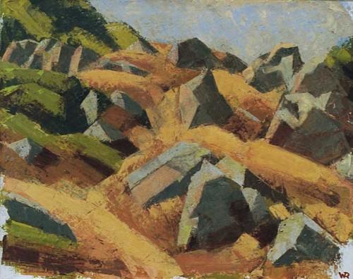 Fotograf: Eget fotoVærk  titel: Klipper-Kullen Værk  type: Maleri Materiale: Olie på lærred Størrelse: 85 x 68 cm
