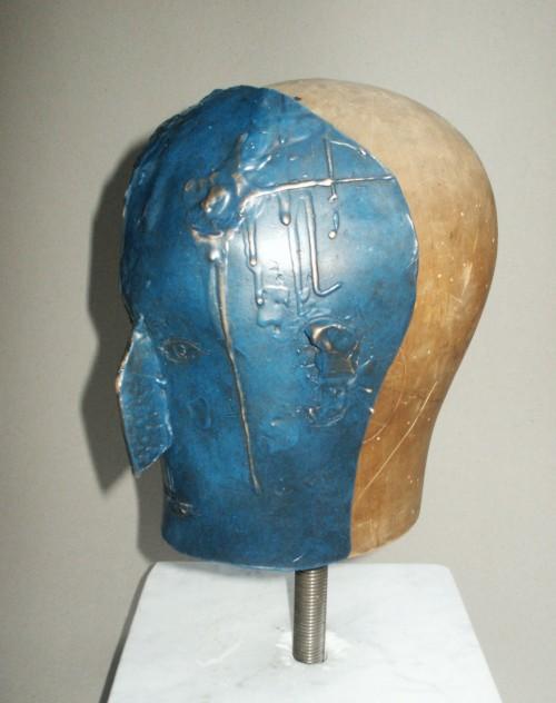 Bronze og træ på marmorsokkel.20 x 25 cm25.000 kr. - € 3.500