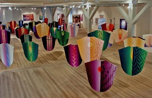 Retrospektiv udstilling i Rundetaarn 2004. Foto: Flemming Bau